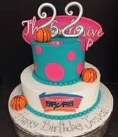 Basketball Inspired Cake 🏀