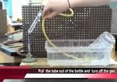 Heating baking soda