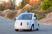 המכונית האוטומטית של google.