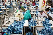 Factory workers in Dhaka, Bangladesh
