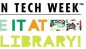 2016 Teen Tech Week March 6-12 2016