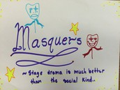 Improv/ Young Playwrights/ Masquers