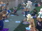 Bear Day with our 3rd grade friends