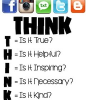 FACT: What you post reflects on you -- THINK!
