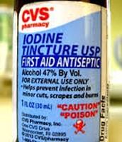 Iodine is a antiseptic