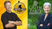 The Green Party and Liberterians