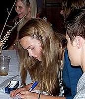 "Bridgit at ""Alice Upside Down"" premiere in 2007."
