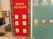 A Book Review culture is emerging in Ashley Nemo's second grade class