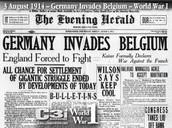 Germany Invaded Belguim