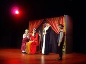 Peça de teatro o príncipe Nabo.