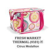 Fres Market Thermal in Citrus Medallion