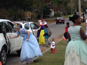 . . . and the Princesses Even Worked the Car Line!