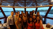LWTHS Mentor group aboard the Naples Princess