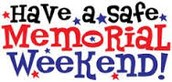 As a reminder, there is no school May 26-May 31. Enjoy the long Memorial Day weekend!