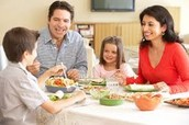Family mealtime is more important today than in the past.