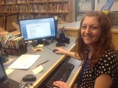 Planning for next lunch and learns with Librarian, Diane.