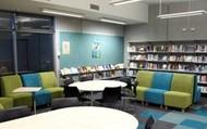 Senior reading room upstairs