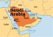 What are three facts about the country Saudi Arabia?