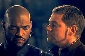Iago telling Othello lies about desdemona