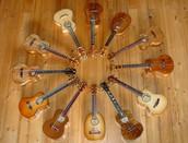 Wooden ukuleles