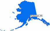 Anchorage on Map