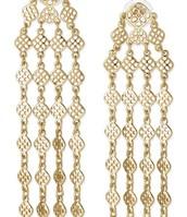Devon Chandelier Earrings - Gold