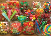 Our assortment of sweet candies
