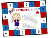 """Ask your child to tell you about this game, """"The Patriotic Bump""""."""