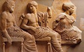 What type of art can be found in Ancient Greece?
