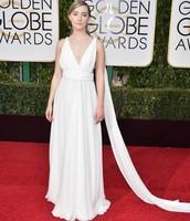 Saoirse Ronan in Saint Laurent