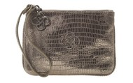 Soho Wristlet, Pewter - Originally $68, now $30