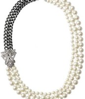 Daisy Pearl Necklace - V