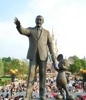 Statue of Walt Disney