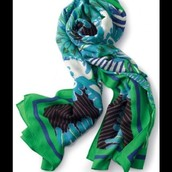 Scarf - Union Square Spring Green $25
