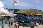 The battle of Fort Fisher