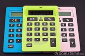 Calculatrices €6
