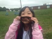 2nd grade Mustache