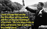 Martin's speech