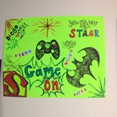 STAAR  Motivation Posters Lined the Hallways of Campus
