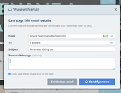 Edit Email Details