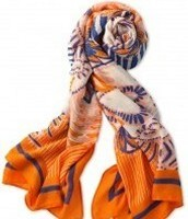 Union Square Scarf - Tangerine (55% off)