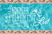 Get a peek at the Summer Retirement list...