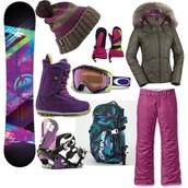 Women's Snowboarding Gear