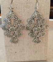 Silver Chandeliers