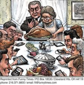 """Cell Phone Thanksgiving"""