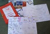 Various school cards