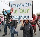Treyvon Martin protesters