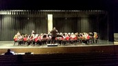 Wind Ensemble On Stage