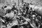 effects on men in the war shows the struggle