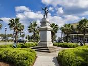 Ponce De Leon statue in St.Augustine